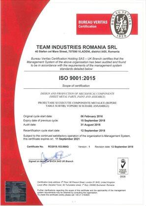 rom iso 9001 2015