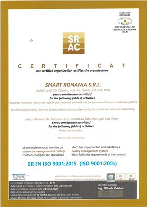 smartrom iso 9001 2015 1