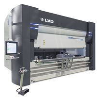 LVD Press brake with automated toolchanger
